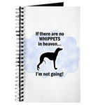 Whippets In Heaven Journal