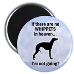 Whippets In Heaven Magnet