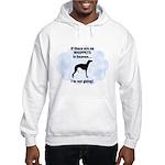 Whippets In Heaven Hooded Sweatshirt