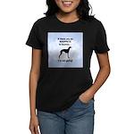 Whippets In Heaven Women's Dark T-Shirt