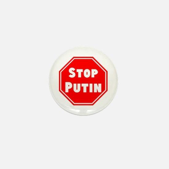 Stop Putin, Trump Mini Button