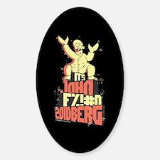 Futurama John Fing Zoidberg Sticker (Oval)