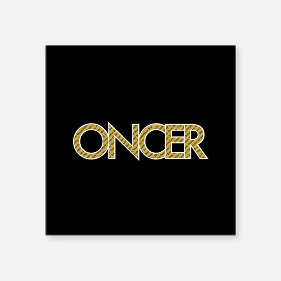 "OUAT Oncer Square Sticker 3"" x 3"""