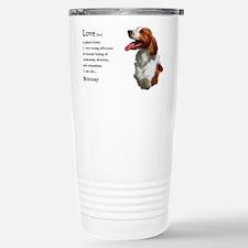 Unique Brittany spaniel Travel Mug