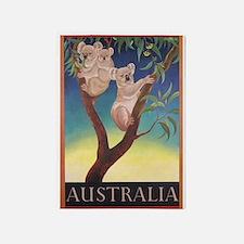 Australia, Koala Bears, Vintage 5'x7'area