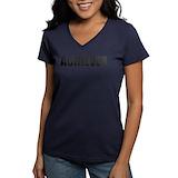 Thebiglebowskimovie Womens V-Neck T-shirts (Dark)