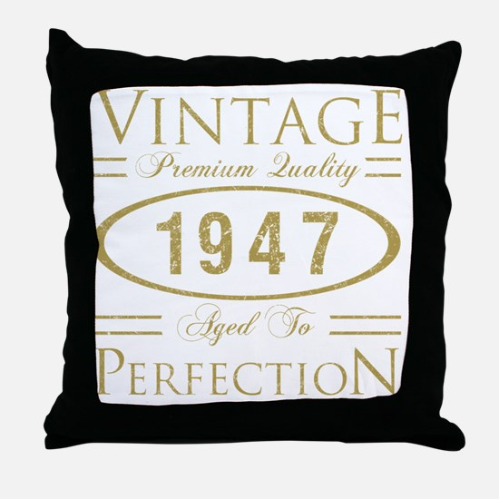 Cool 55 year old mens Throw Pillow