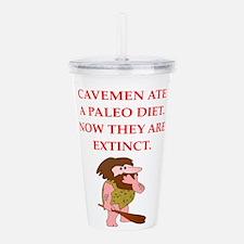 caveman Acrylic Double-wall Tumbler