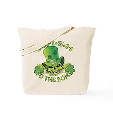 Irish Skull Tote Bag