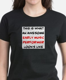 awesome early music performer Tee