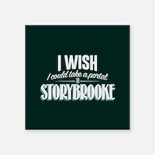 "OUAT Portal to Storybrooke Square Sticker 3"" x 3"""