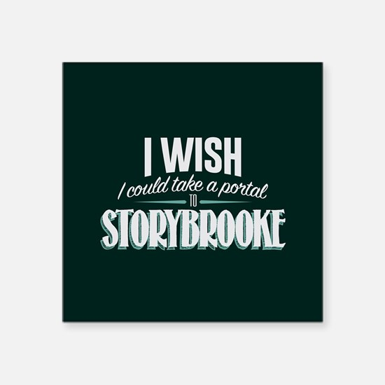 "OUAT Portal to Storybrooke Square Sticker 3"" x 3"""