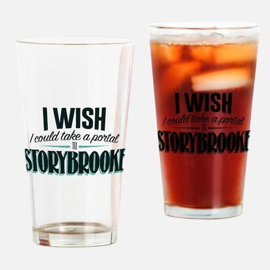 OUAT Portal to Storybrooke Drinking Glass