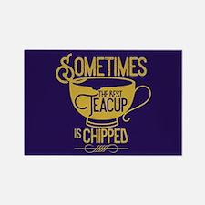 OUAT Teacup Rectangle Magnet