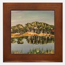 Reflection, Lake Elmo Reserve, Framed Tile