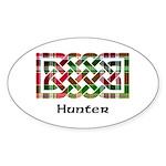 Knot - Hunter Sticker (Oval)