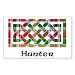 Knot - Hunter Sticker (Rectangle 10 pk)