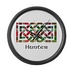 Knot - Hunter Large Wall Clock