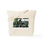 Zombie Attack Tote Bag