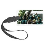 Zombie Attack Large Luggage Tag