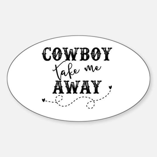 Cute Oklahoma state cowboys Sticker (Oval)