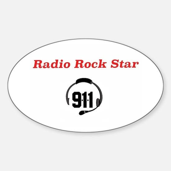 Radio Rock Star Decal