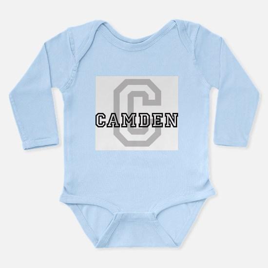 Letter C: Camden Infant Creeper Body Suit