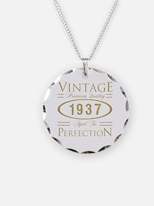 Unique 80 birthday men Necklace