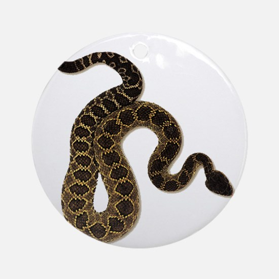 SLITHER Round Ornament