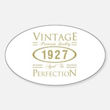90 aged to perfection Decal