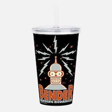 Futurama Bender Rodrig Acrylic Double-wall Tumbler