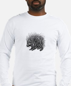 Sharp Porcupine Long Sleeve T-Shirt