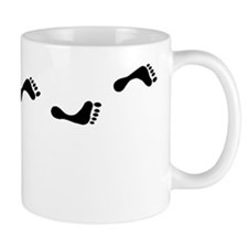 Walking feet Mug