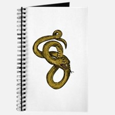 Viper Coiled Ready To Pounce Drawing Journal