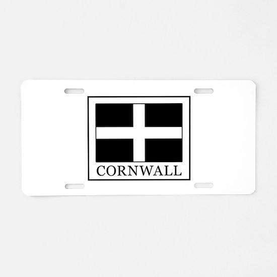 Cornwall Aluminum License Plate