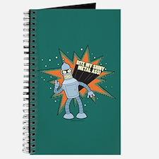 Futurama Bender Shiny Journal