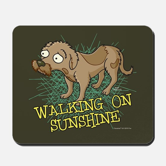 Futurama Walking on Sunshine Mousepad
