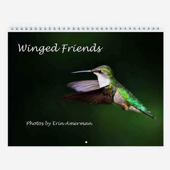 Winged Friends Wall Calendar