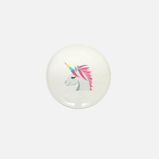 Unique Unicorn Mini Button