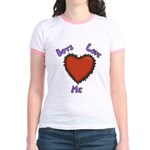 Boys Love Me Jr. Ringer T-Shirt