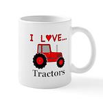 I Love Red Tractors Mug