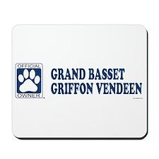 GRAND BASSET GRIFFON VENDEEN Mousepad