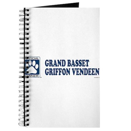 GRAND BASSET GRIFFON VENDEEN Journal