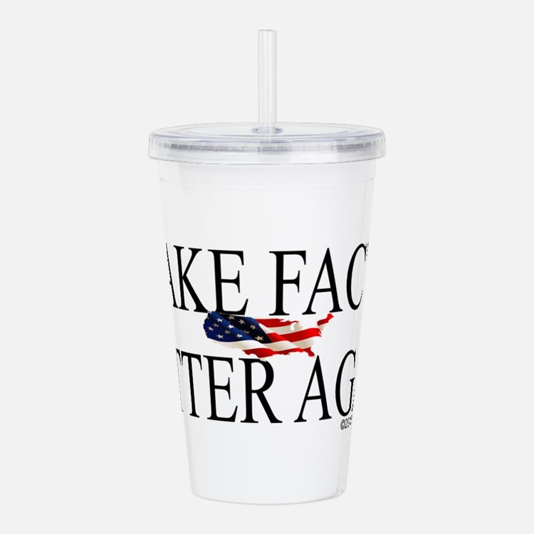 Cute Politics Acrylic Double-wall Tumbler