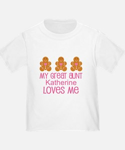 Personalized Great Aunt gift T-Shirt
