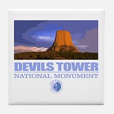 Devils Tower Tile Coaster