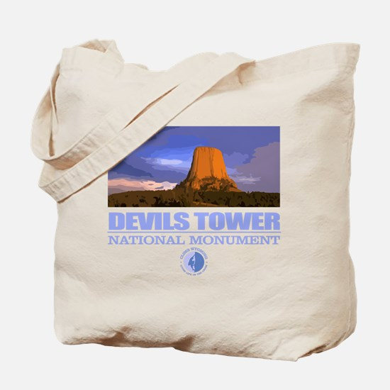Devils Tower Tote Bag