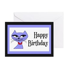 Birthday Cat Greeting Cards (Pk of 10)
