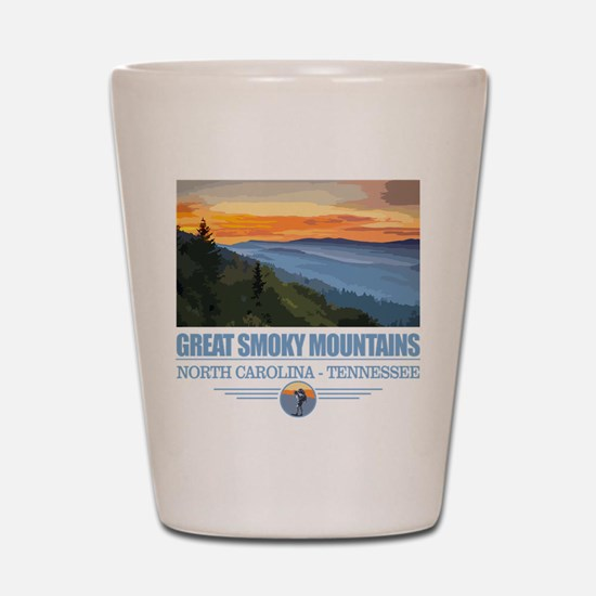 Great Smoky Mountains Shot Glass