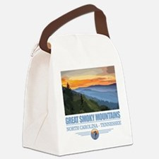 Great Smoky Mountains Canvas Lunch Bag